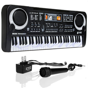 61 Keys Digital Music Electronic Keyboard with Microphone