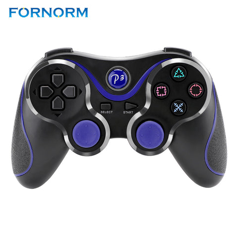 FORNORM Wireless Bluetooth V3.0 Game Controller Joysticks Gamepads Controller Compateble For PS3 Sensing Controller