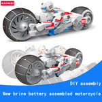 Brine Battery Powered DIY Electronic Motorcycle