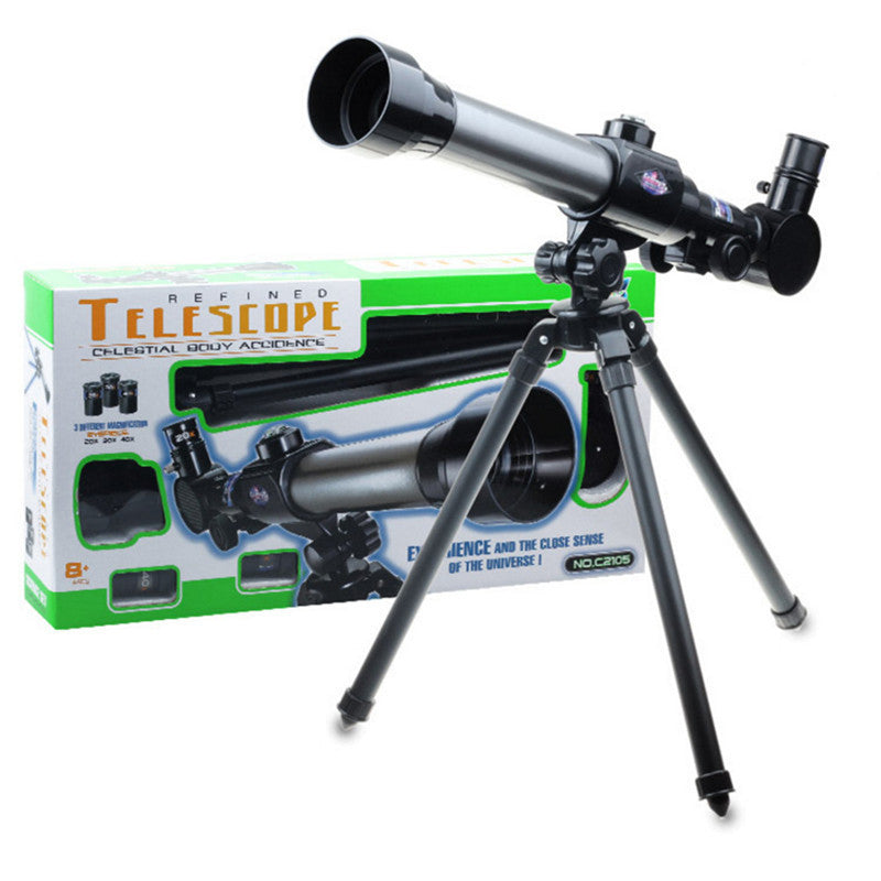 Telescope with Adjustable Tripod & 3 eyepieces included