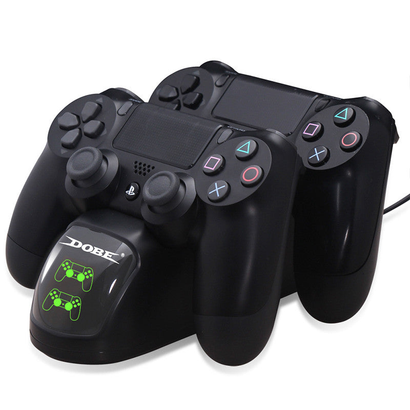 Dual Game Controller Charging Docking Station for PS4 Slim/Pro