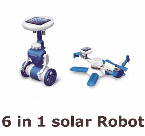 6 in 1 DIY Solar Robot kit