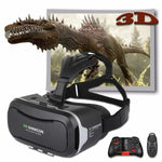 Shinecon 2.0 VR Pro Version Virtual Reality 3D Glasses Headset Google Cardboard BOX 3.0 Movie Game For 4.7-6 inch Phone + Remote