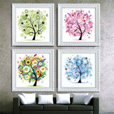 Diamond Art - Four Seasons artwork Kit - DIY Art