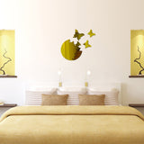 Acrylic Mirror Wall Stickers - DIY Room Decor - Butterflies - Gold