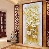 Diamond Art - Lily Flower diamond artwork Kit - DIY Art
