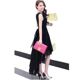 Hot Elegant Bohemia Style Asymmetric Sleeveless long dress