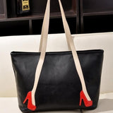 Brief Style High-heeled Shoes Bag