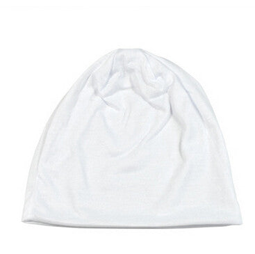 Ladies Cap Solid Color Bonnet