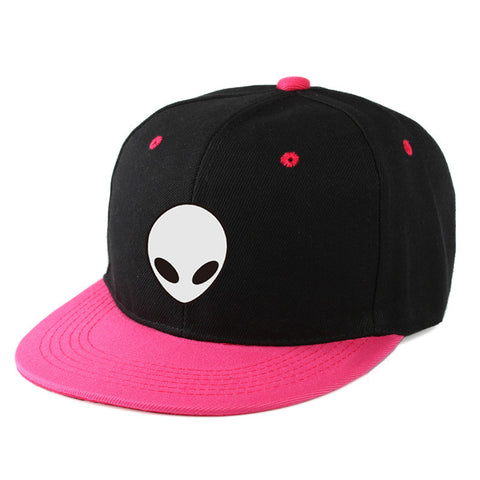 2017 East Knitting Aliens Printing Baseball Cap