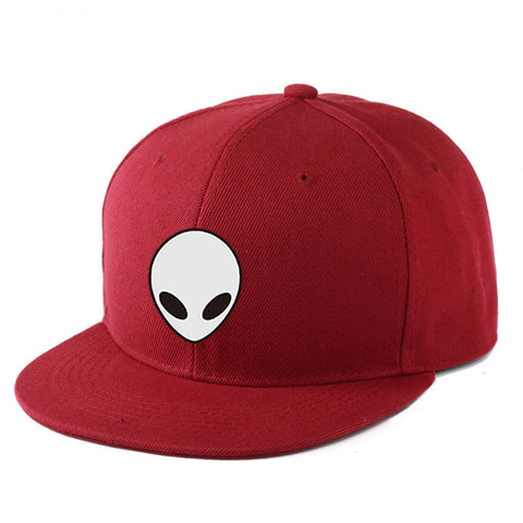 5c8fcff4775 2017 East Knitting Aliens Printing Baseball Cap – OrionExpress