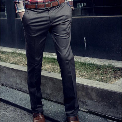 Korean Casual Slim Fit Pants