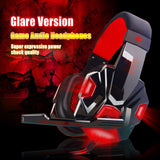 Mic/LED Light Over Ear Stereo Noise Reduction Auriculares Headphone