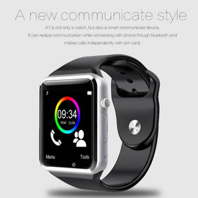 Men's Samsung Wristwatch A1 Bluetooth with SIM Camera