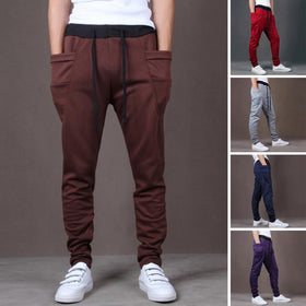 Hip Hop Trousers Big Pockets Harem Pants