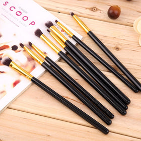 10 Pcs Professional Makeup Brushes Set