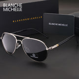 Men luxury Brand Designer Cool Driving UV400 vintage Sun Glasses with box