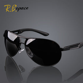 R.Bspace Brand 2017 New Fashion Men's UV400 Polarized coating Sunglasses men Driving Mirrors oculos Eyewear Sun Glasses for Man