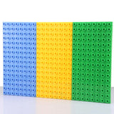 Big Bricks Baseplate 25.5*12.5cm 16*8 Dots Base Plate Compatible