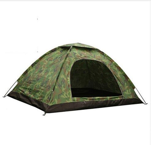 Outdoor Portable Single Layer C&ing Tent Camouflage 3-4 Person Waterproof lightweight Beach fishing hunting  sc 1 st  OrionExpress & 4 people camping Tent Portable Single Layer carpas 4 Person ...