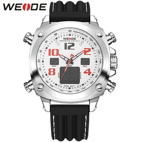 2016 WEIDE Quartz Mens Watches Men Luxury Brand LED Digital Army Military