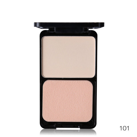 Palette Concealer Contour Nude Compact Cosmetics With Puff