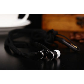 Universal 3.5mm Shoelace Earphone Stereo Headphone