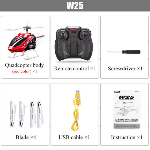Original SYMA W25 2CH RC Helicopter Shatterproof Remote Control Copter with Built in Gyro Radio Mini Drones Indoor