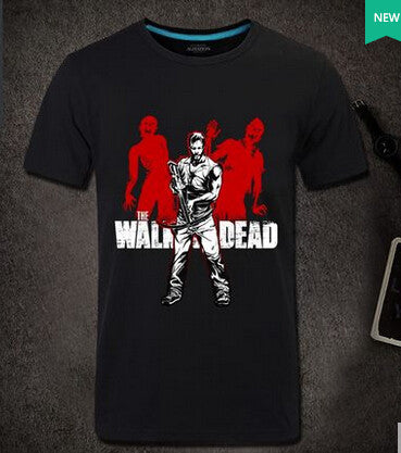ROXINYUEHU Creative T-shirt Unique Fashion Men/Women Daryl Dixon the Walking Dead All Over Printed  t shirt Free shipping  DT006