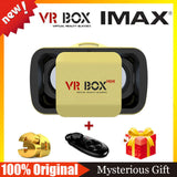VR BOX 2.0 Virtual Reality 3D Glasses Goggles VR Helmet+Bluetooth Mouse Remote Controller