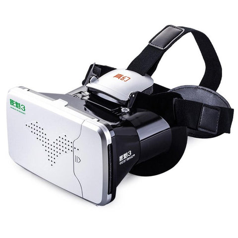 1595ec21005 RITECH Riem 3 Virtual Reality 3D VR Glasses Head Mounted Headset Private  Theater for 3.5 -