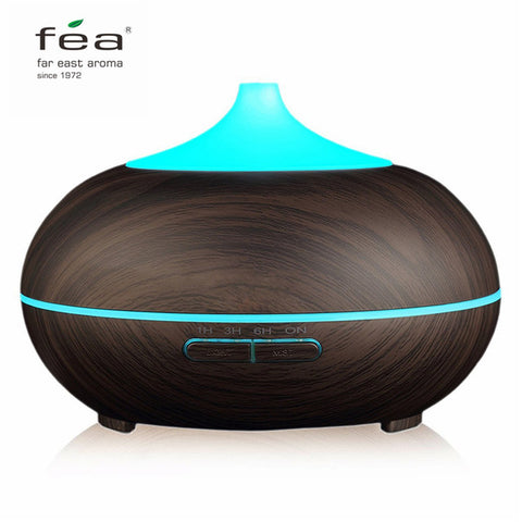FEA Essential Oil Diffuser 300ML Air Humidifier Aroma Lamp Aromatherapy Electric Ultrasonic Aroma Diffuser Mist Maker