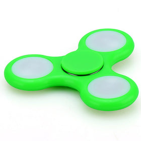 1Pc Fashion 3 LED Lighting EDC Children Adult Finger Spinner Autism & ADHD Focusing