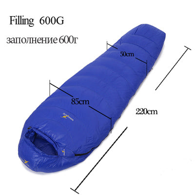 Sleeping bag mummy ultralight hike outdoor Equipment camping sleep bag