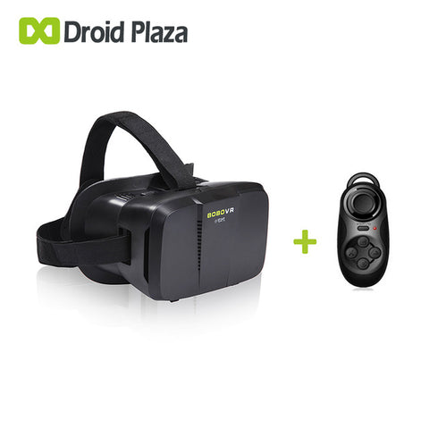BOBOVR Z2 3D Virtual Reality Glasses + Bluetooth Gamepad Controller Xiaozhai II VR Box Google Cardboard for Smartphone