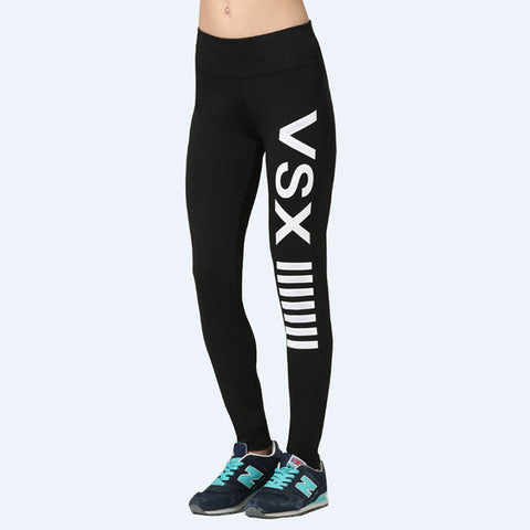 [AP] Running Tights Sports Leggings Fitness Yoga Pants Victoria prints Skinny Pants Slim Gym Leggings Women Sexy Trousers