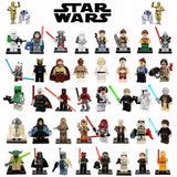 Knight Leia Clone Soldier The Bounty Hunter Sith Starwars Block Toy Han Solo