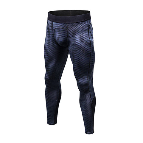 YEL New GYM Leggings Compression Bodybuilding Pantalones Hombre Fitness Trousers Sweat Pants For Men Sport Tights Running Pants