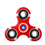 Fidget Puzzle Spinner Funny Printing Spinner Hand Colorful Gyro EDC Plastic