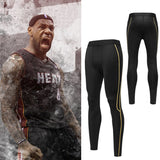 2017 Men's Running Compression Basketball Pants Fitness Tights Sportswear Training Outdoor Trousers Sports Gym Leggings