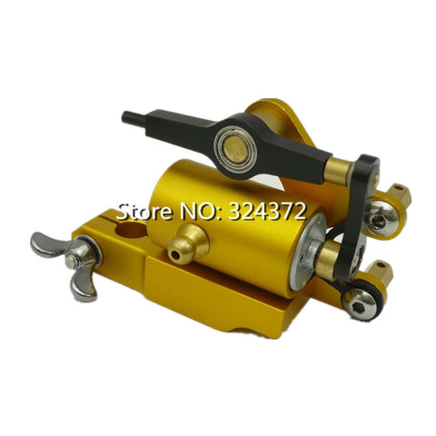 Hot Sell Professional Golden Rotary Tattoo Machine for Shader and Liner High quality Tattoo Gun Quiet Strong Power Body Art