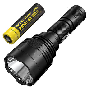 NITECORE P30 1000Lumen Long-range Tactical Flashlight with 18650 Battery Outdoor Hunting Waterproof Portable Torch Free Shipping