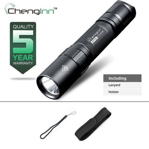 High brightness military tactical flashlight High quality aluminium alloy IPX8 diving flashlight for extreme conditions Chenglnn