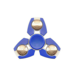 Kids Design Blue Fidget Hand Tri-Spinner