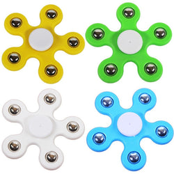 Kids Fun Flower Pent-Spinner