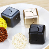 Magic Metal Hand Cube Spinner