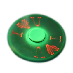 New Kids LED Flash Signals Hand Tri-Spinner