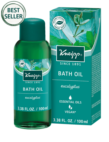 Eucalyptus Herbal Bath Oil
