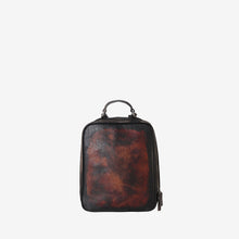 Genuine Leather Distressed Stylish Backpack