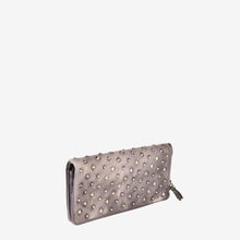 Fashionable Studs Leather Wallet